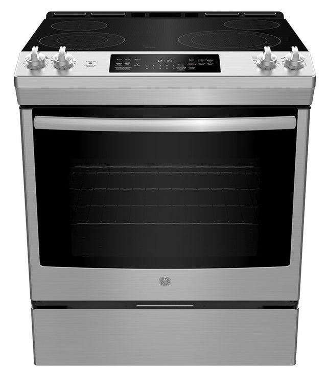 Cuisinière électrique encastrée GE® de 5,3 pi³ de 30 po - Acier inoxydable-JCS830SMSS