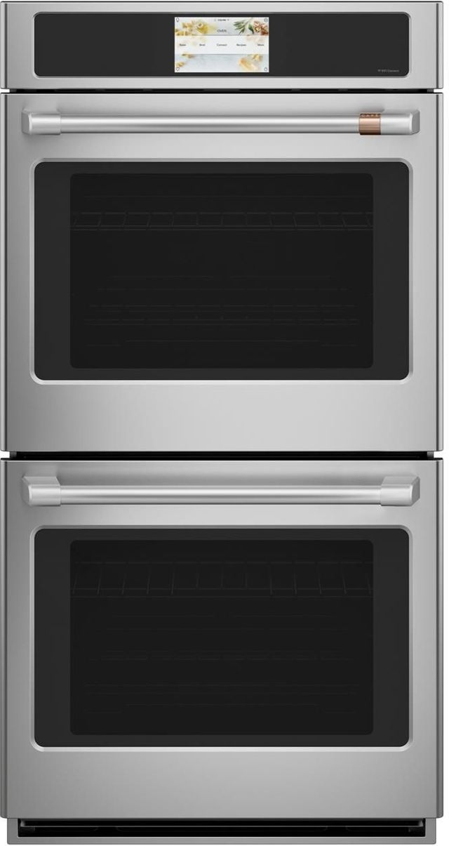 """Café™ Professional Series 26.75"""" Stainless Steel Built-In Electric Convection Double Wall Oven-CKD70DP2NS1"""