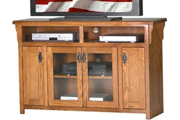 American Heartland Oak TV Stand-88553