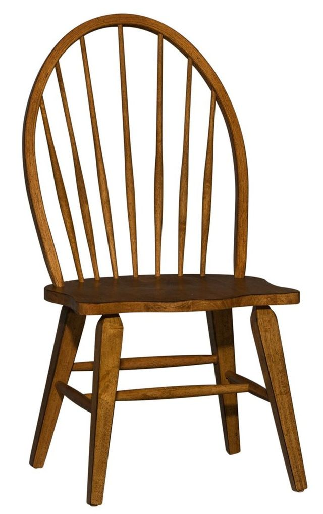 Liberty Furniture Hearthstone Rustic Oak Side Chair-382-C1000S