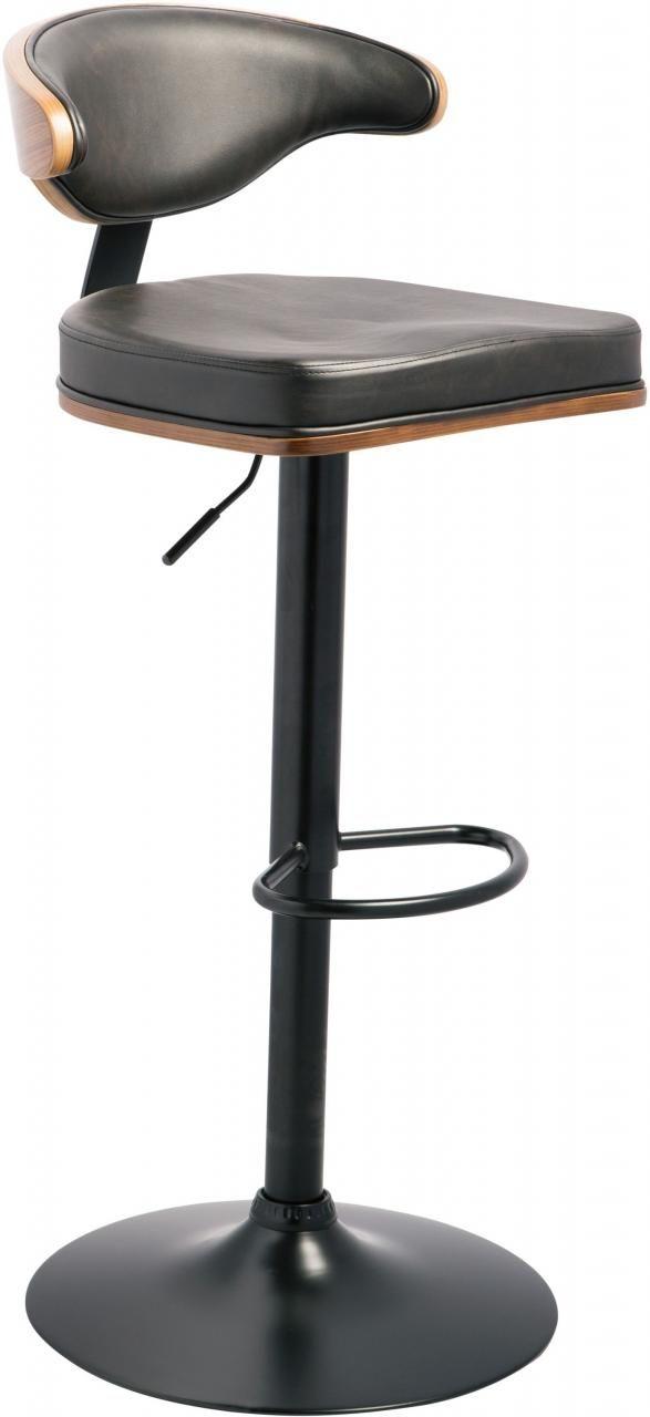 Signature Design by Ashley® Bellatier Black Adjustable Height Bar Stool-D120-330