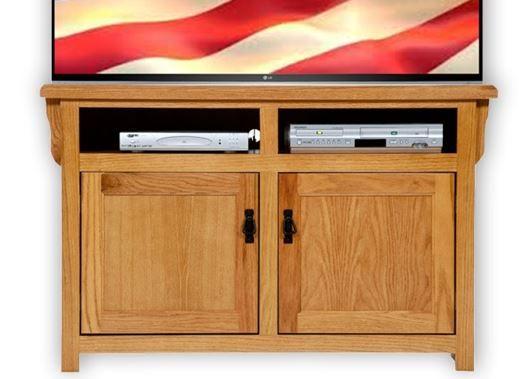 American Heartland Oak TV Stand-88844