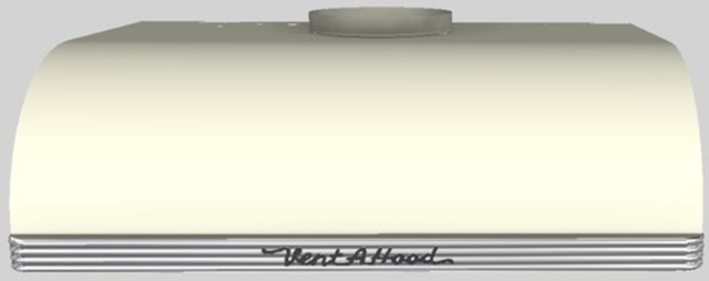 "Vent-A-Hood® 30""  Retro Style Under Cabinet Range Hood-Biscuit-CLH9-230 BT"