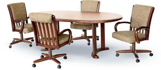 Chromcraft™ Dining Table-CD817W+CD85W