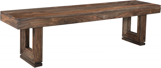 Coast to Coast Imports™ Brownstone Nut Brown Dining Bench-98235