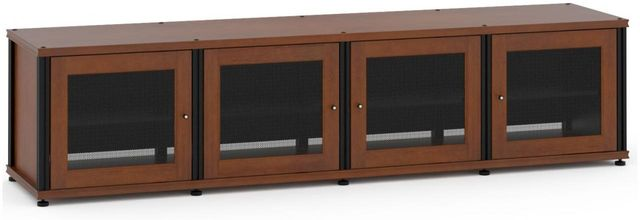 Salamander Designs® Synergy Model 247 AV Cabinet-Dark Cherry/Black-247C/B