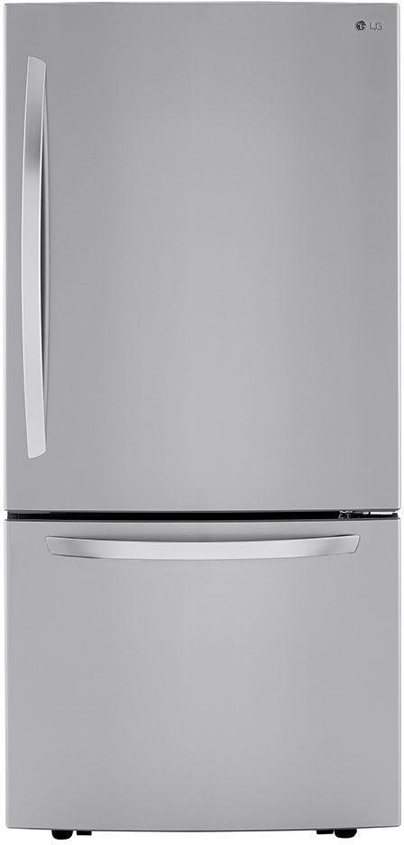 LG 25.5 Cu. Ft. PrintProof™ Stainless Steel Bottom Freezer Refrigerator-LRDCS2603S