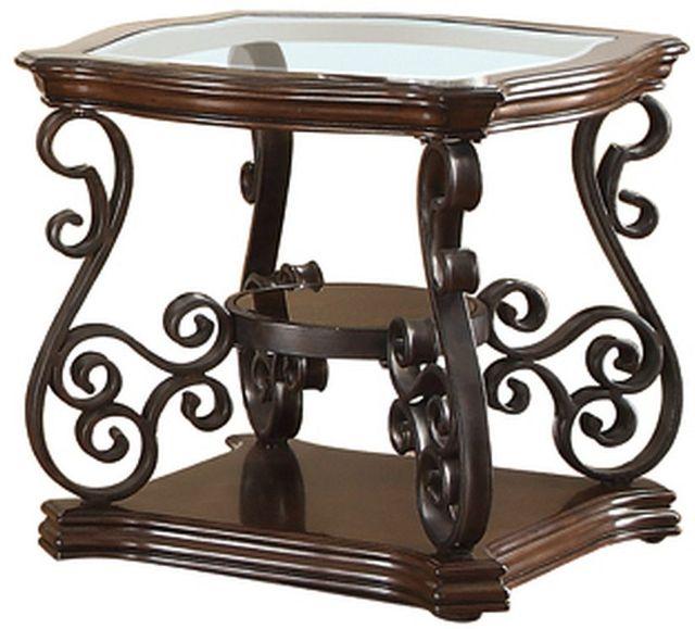 Coaster® Sir Rawlinson Deep Merlot End Table-702447