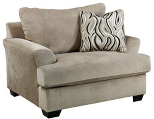 Signature Design by Ashley® Heflin Pebble Chair and a Half-4720123