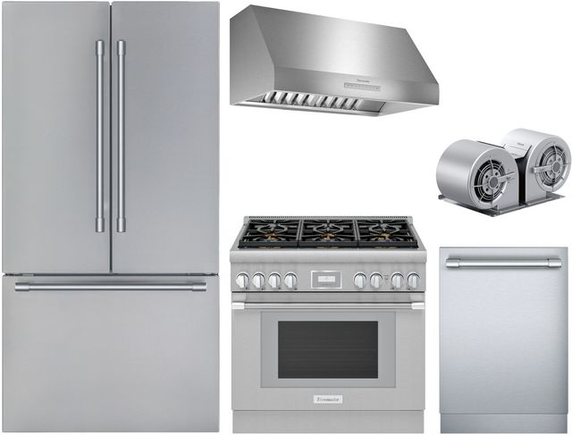 Thermador 5 Piece Stainless Steel Kitchen Package Thkitprg366wh Home Appliances Kitchen Appliances Laundry And Outdoor Grills In Redwood City Ca 64063