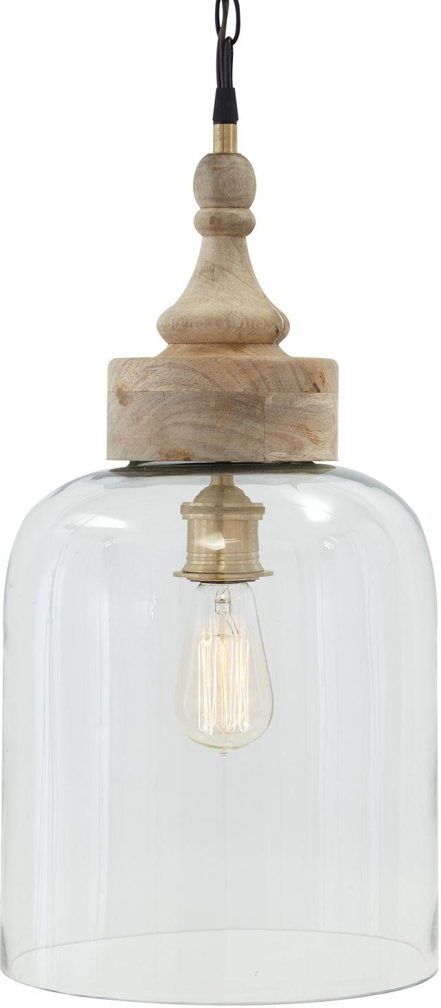 Faiz Faiz Transparent Glass Pendant Light-L000148