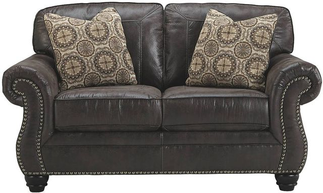 Benchcraft® Breville Charcoal Loveseat-8000435