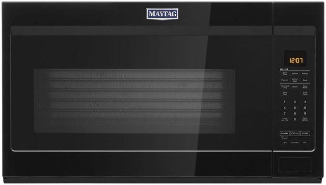 Maytag® 1.9 Cu. Ft. Black Over The Range Microwave-MMV4207JB
