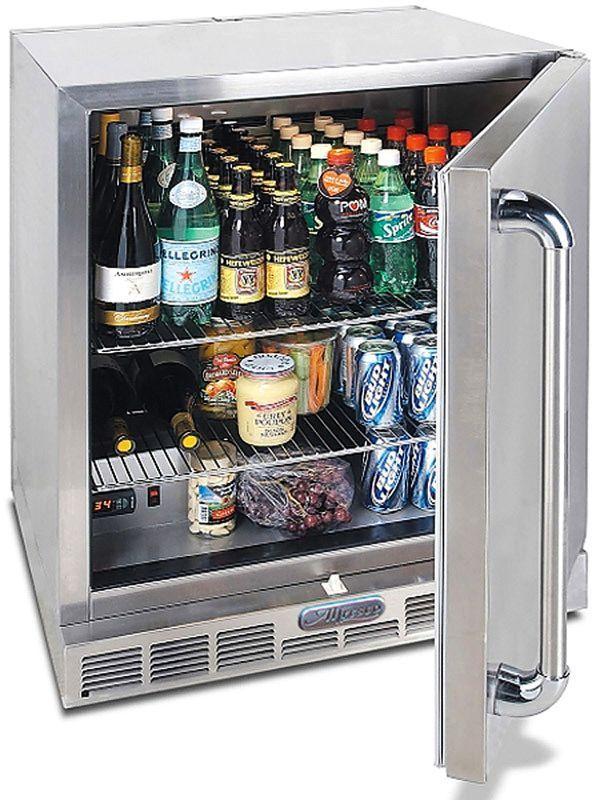 Alfresco™ 7.25 Cu. Ft. Single Door Refrigerator-Stainless Steel-URS-1XE