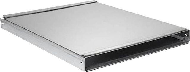 Couverture et extension de conduit de 2 po Zephyr® - Aspect acier inoxydable-AK00080