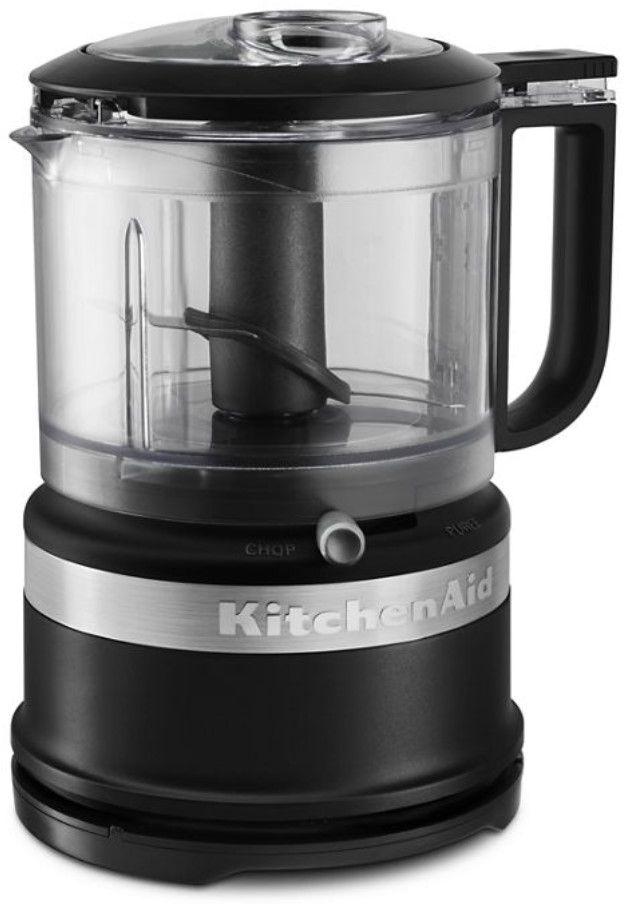 KitchenAid® 3.5 Cup Black Matte Food Chopper-KFC3516BM