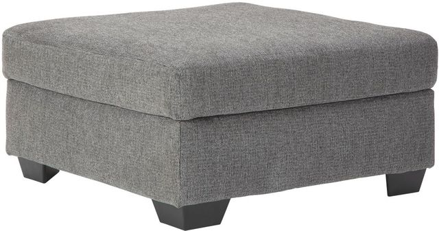 Benchcraft® Dalhart Charcoal Oversized Accent Ottoman-8570308