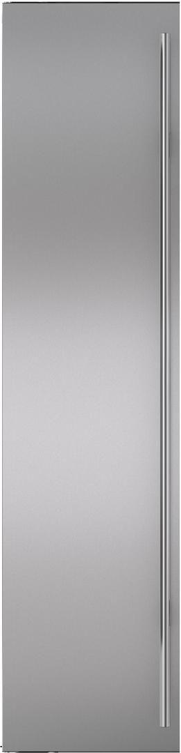 "Sub-Zero® Classic 42"" Stainless Steel Flush Inset Freezer Door Panel with Tubular Handle-7030221"