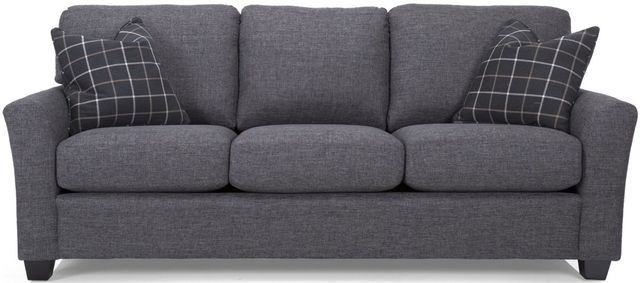 Decor-Rest® Furniture LTD 2A1 Alessandra Connections Gray Sofa-2A1-01