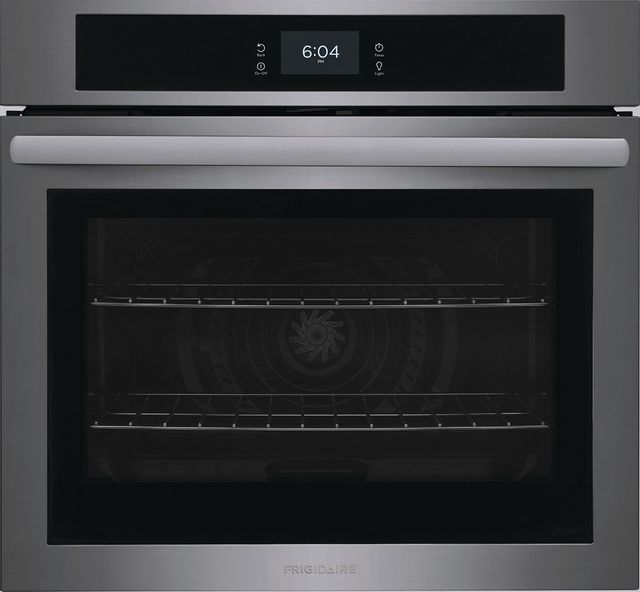 """Frigidaire® 30"""" Black Stainless Steel Single Electric Wall Oven-FCWS3027AD"""