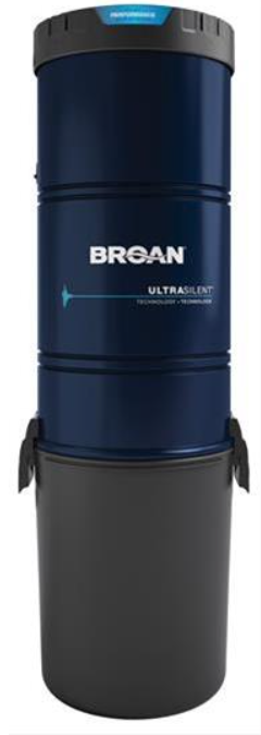 Broan® Central Vacuum with 700 Air Watts-BQ700