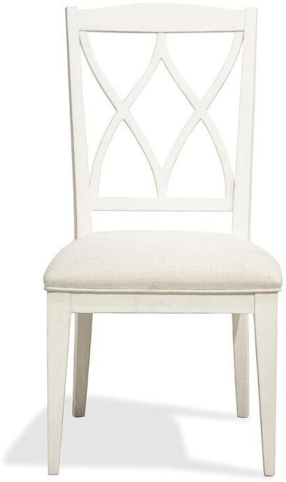 Riverside Furniture Myra XX-Back Upholstered Side Chair-59397