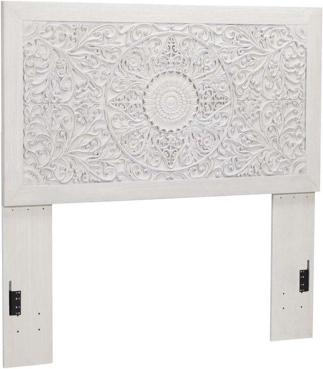 Signature Design by Ashley® Paxberry Whitewash Full Panel Headboard-B181-87