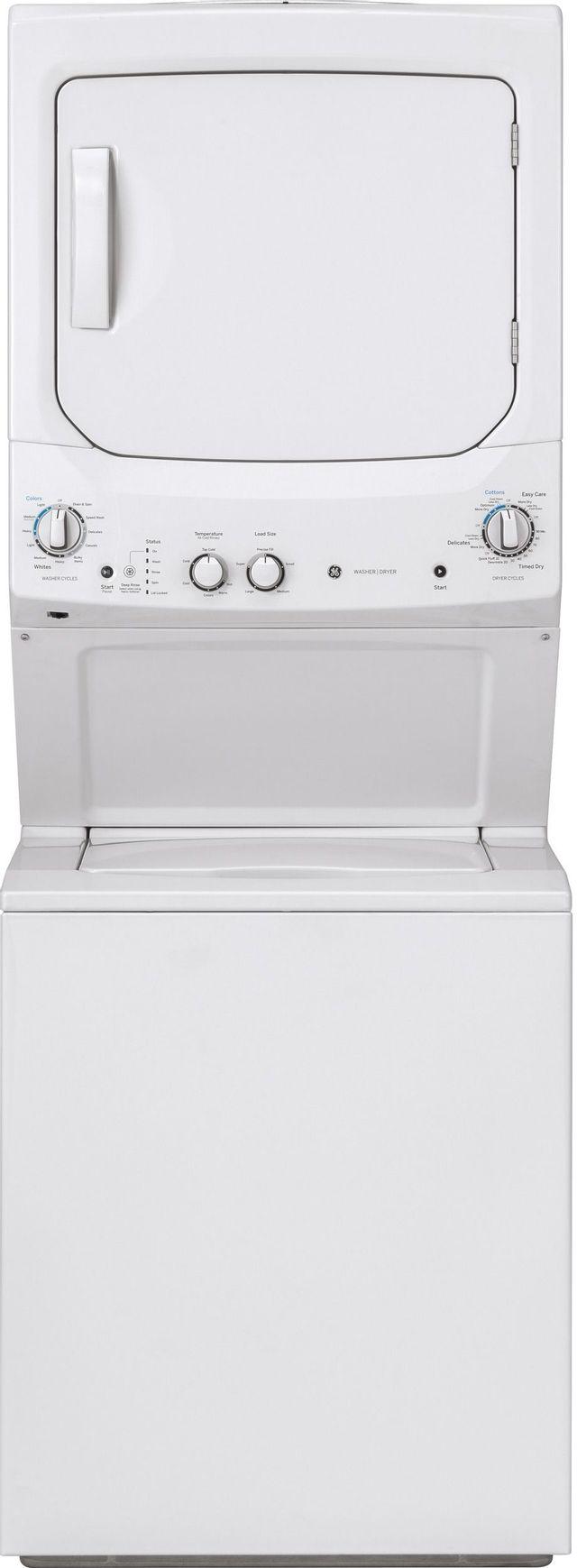 GE® Stack Laundry-White on White-GUV27ESSMWW