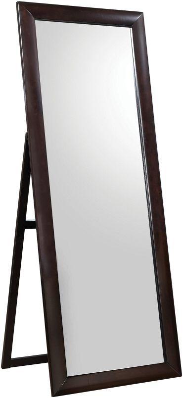 Coaster® Phoenix Black Standing Floor Mirror-200417