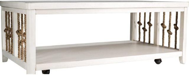 Liberty Furniture Dockside II White Cocktail Table-469-OT1010