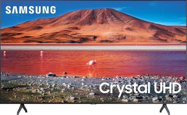 "Samsung TU7000 60"" 4K Crystal UHD LED Smart TV-UN60TU7000FXZA"