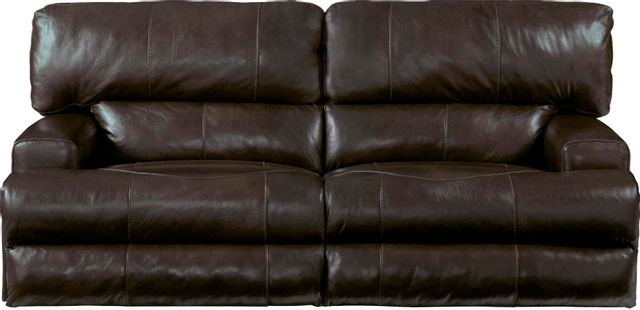 Catnapper® Wembley Power Headrest Power Lay Flat Reclining Sofa-64581