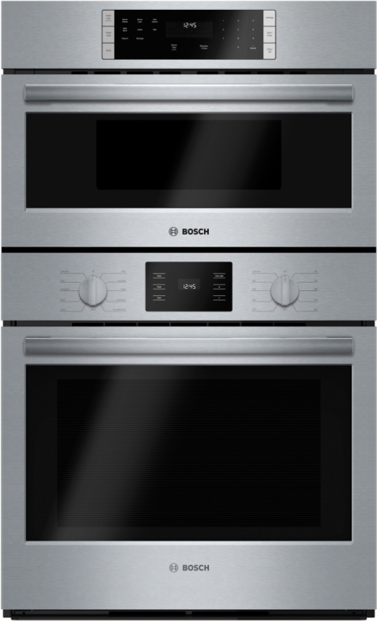 """Bosch 500 Series 30"""" Stainless Steel Microwave Combination Oven-HBL57M52UC"""