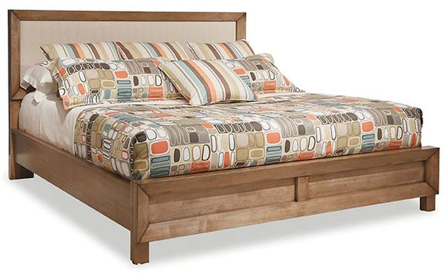 Durham Furniture Odyssey Desert Sand Queen Upholstered Bed-186-135