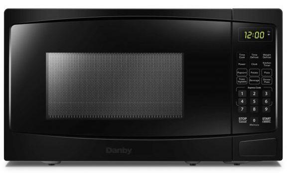 Four à micro-ondes de comptoir Danby® de 0,7 pi³ - Noir-DBMW0720BBB