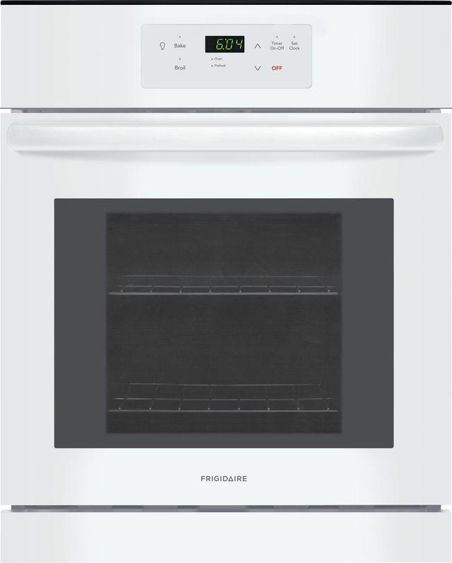 "Frigidaire® 23.88"" White Electric Single Oven Built In-FFEW2426UW"