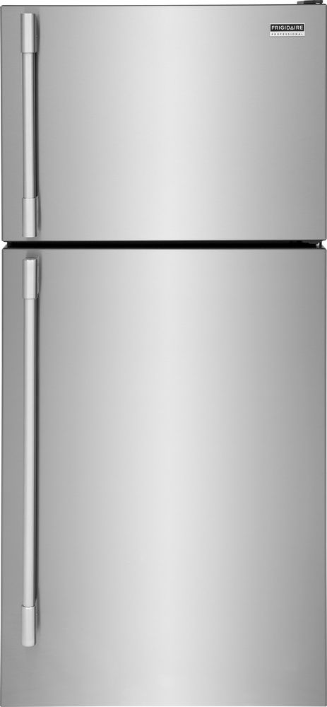 Frigidaire Professional® 20.0 Cu. Ft. Smudge-Proof® Stainless Steel Top Freezer Refrigerator-FPHT2097VF