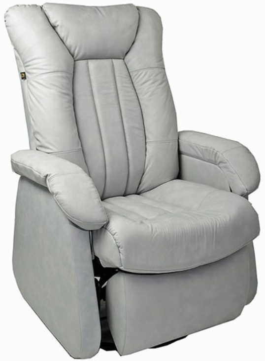 Fauteuil inclinable motorisé motorisé NEO en tissu blanc PEL International®-315655