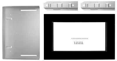 "Whirlpool® Black 27"" Microwave Trim Kit-MK2167AB"