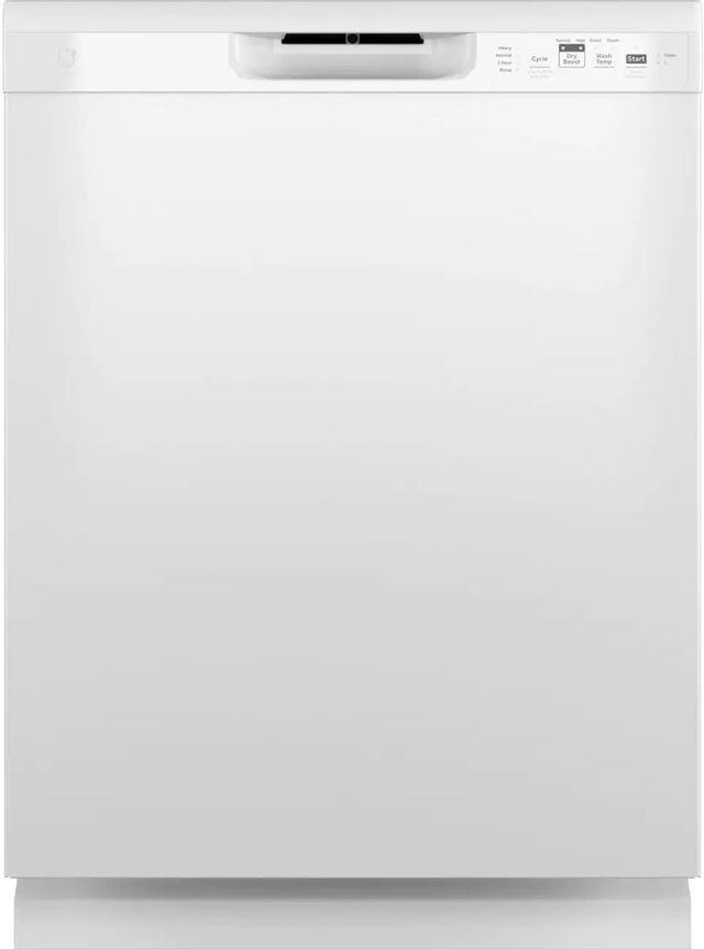 """GE® 24"""" White Built In Dishwasher (S/D)-GDF510PGRWW-SD"""