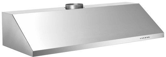 """Bertazzoni Professional Series 48"""" Pro Style Vent Hood-Stainless Steel-KU48PRO1X"""