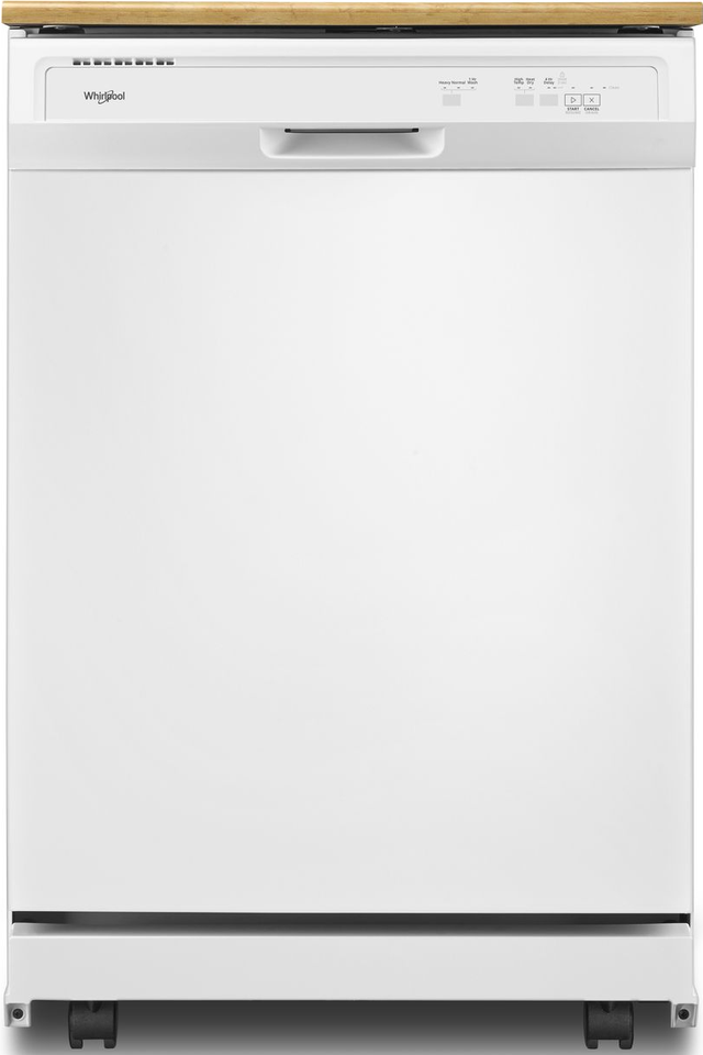 "Whirlpool® 24"" Portable Dishwasher-White-WDP370PAHW"