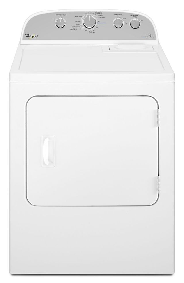 Whirlpool® 7.0 Cu. Ft. White Front Load Electric Dryer-YWED49STBW