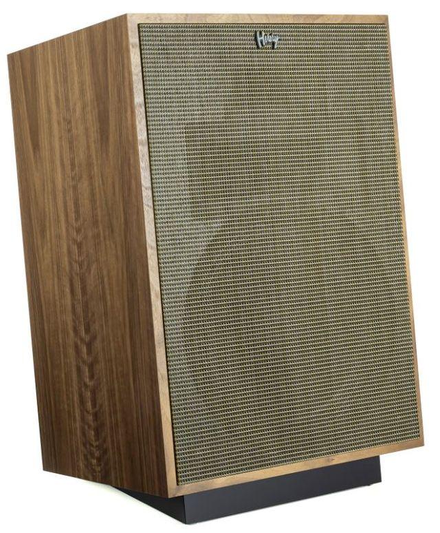 Klipsch® Heresy IV Walnut Floorstanding Speaker-1068153