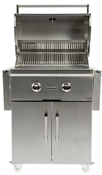 """Coyote Outdoor Living C-Series 28"""" Free Standing Grill-Stainless Steel-C1C28LP-FS"""