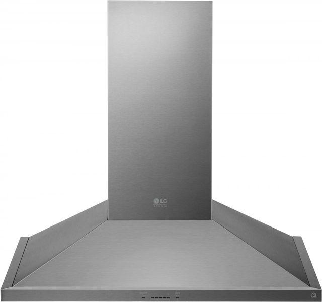 "LG Studio 35.44"" Stainless Steel Wall Mount Range Hood-LSHD3680ST"
