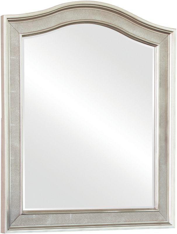 Coaster® Bling Game Metallic Platinum Vanity Mirror-204184