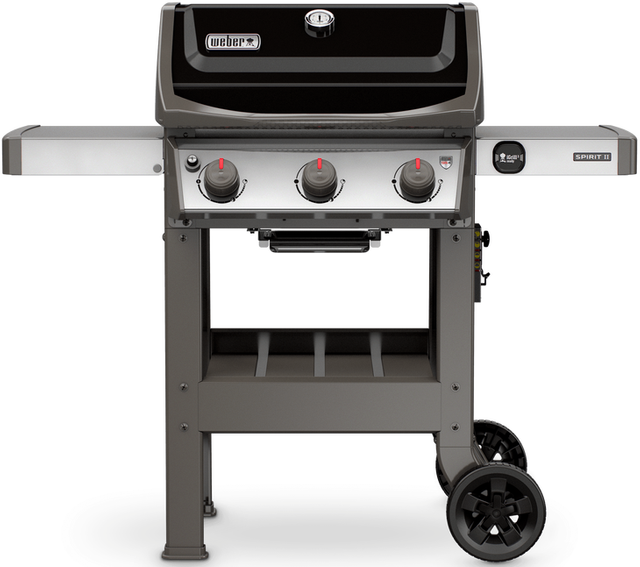"Weber® Spirit® II E-310 52"" Black Free Standing Gas Grill-45010001"