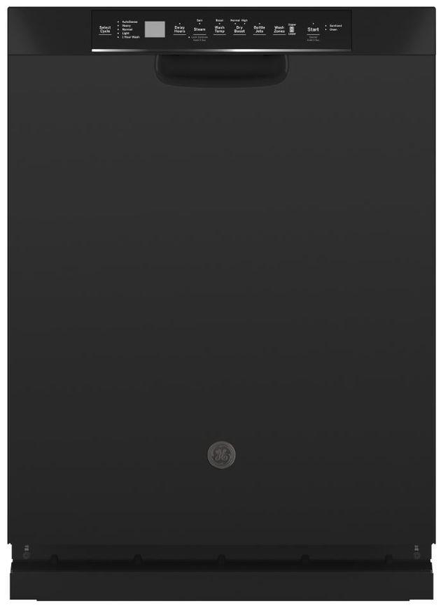 "GE® 24"" Black Built In Dishwasher-GDF645SGNBB"