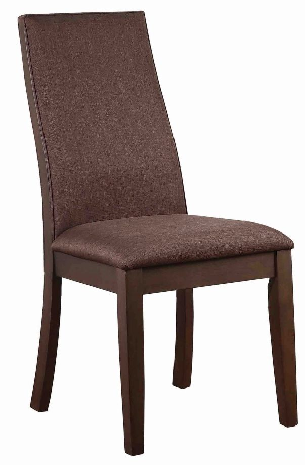 Coaster® Spring Creek Rich Cocoa Brown Upholstered Side Chairs -106582